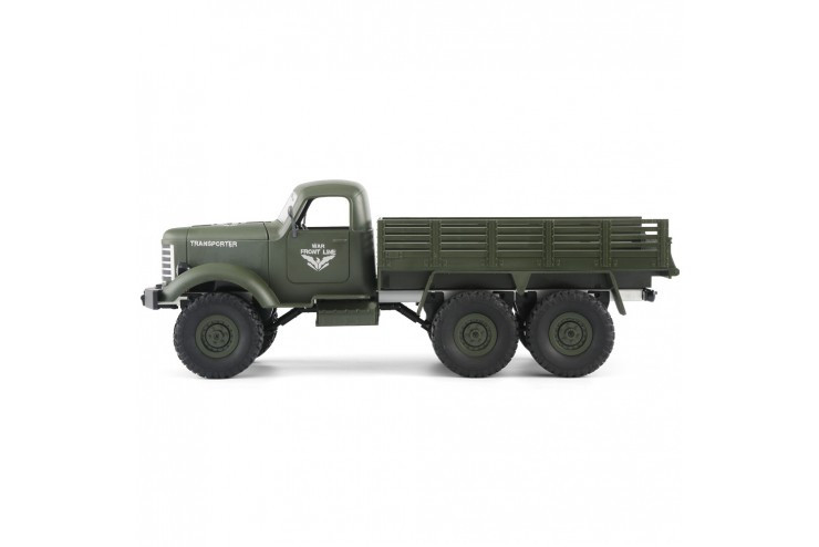 Грузовик транспортер 1/16 6WD - Army Truck (2.4 гГц) WL Toys Q60