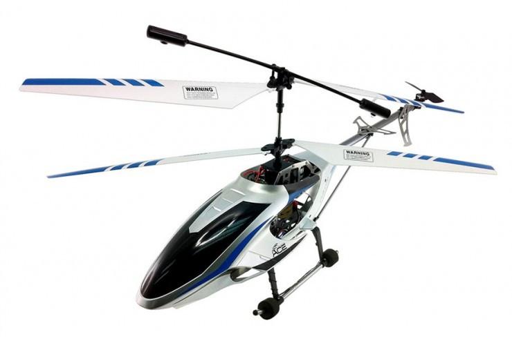 Радиоуправляемый Вертолет с гироскопом 75см Auldey YW857170