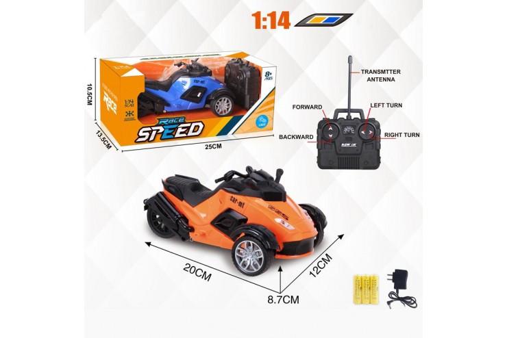 Радиоуправляемый трицикл 1:14 Yuan Di 869-72A