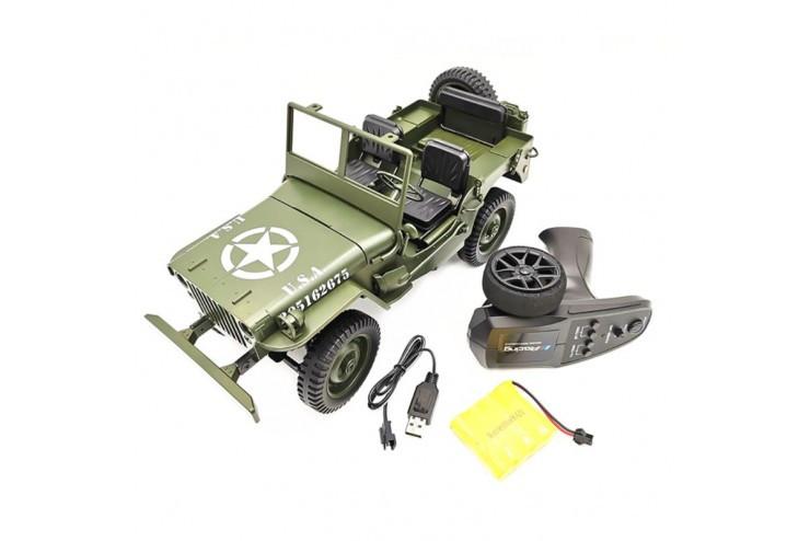 Радиоуправляемый Jeep Willys 4WD 1:10 2.4G WL Toys C606
