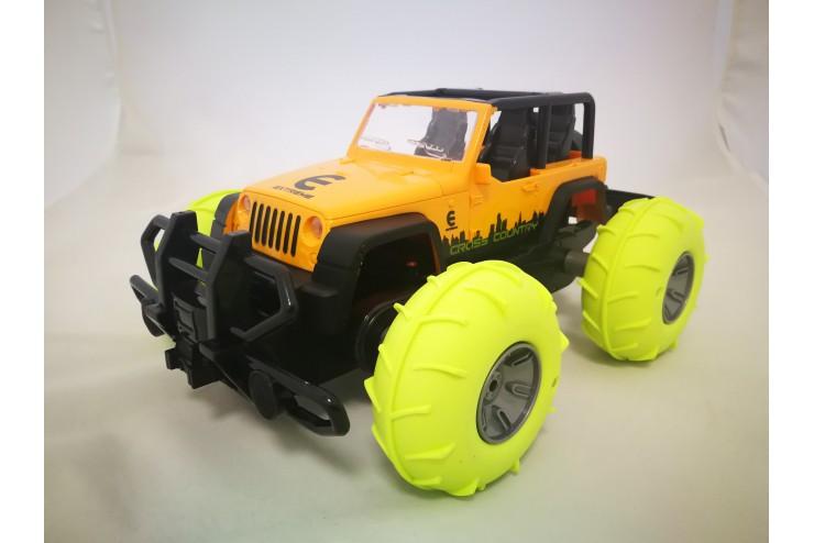 Радиоуправляемый джип-амфибия с пневмо колесами CS Toys FDQ808