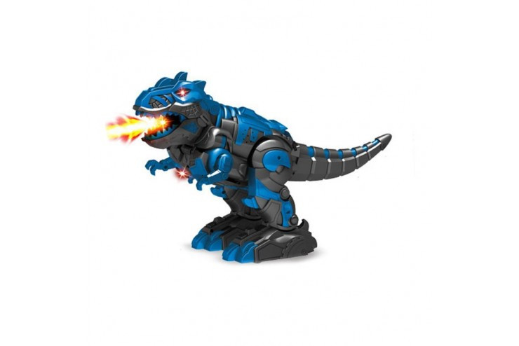 Радиоуправляемый робот трансформер 2 в 1 (робот и динозавр с паром) Defa Toys DT-6033