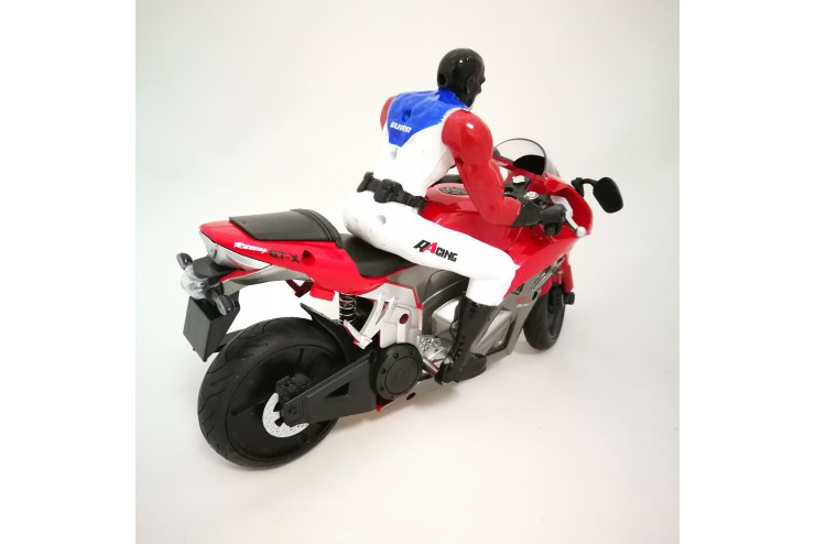 Радиоуправляемый мотоцикл с гироскопом 2,4G Yongxiang Toys 8897-204