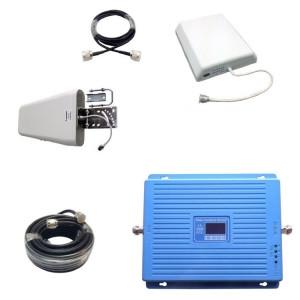 Трехдиапазонный усилитель сотовой связи GSM/DCS/3G Комплект