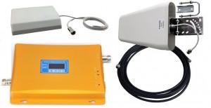 Двухдиапазонный усилитель сотовой связи GSM/3G Комплект