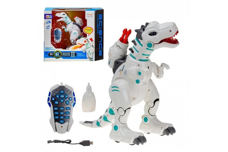 Интерактивный динозавр с паром и стрелами на р/у (рус. язык) Yearoo Toy 88002