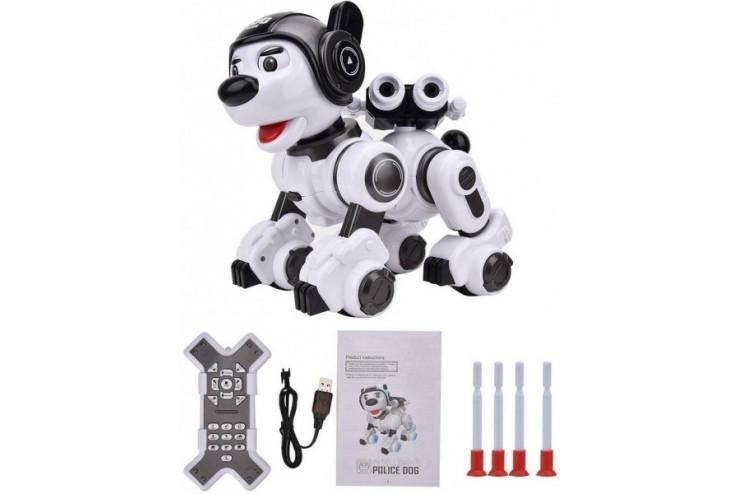Радиоуправляемая интеллектуальная собака-робот Crazon (ИК-управление) Create Toys CR-1901