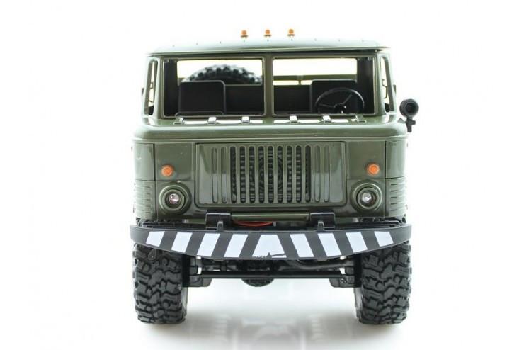 Радиоуправляемая машина WPL Газ 66 грузовая 1:16+акб RTR 2.4G WL Toys WPLB-24-Green