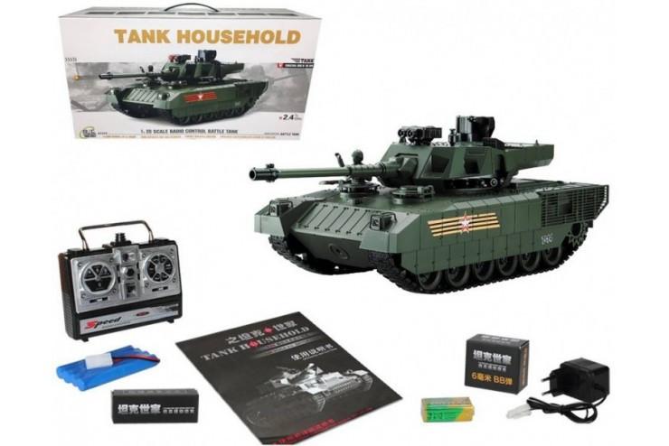 Радиоуправляемый танк CS RUSSIA T-14 Армата Household YH4101H-19
