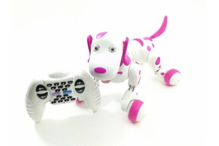 Радиоуправляемая робот-собака Smart Dog Happy Cow Happy Cow 777-338-Pi