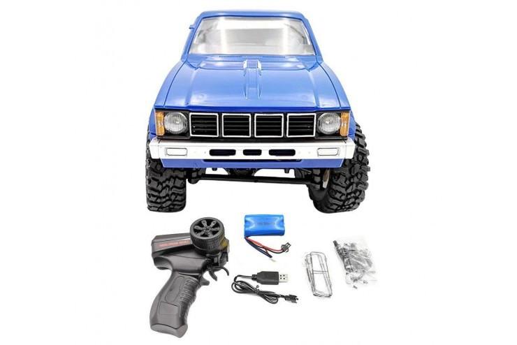 Радиоуправляемый краулер WPL Military Truck Buggy Crawler RTR 4WD масштаб 1:16 2.4G WL Toys WPLC-24R-Blue