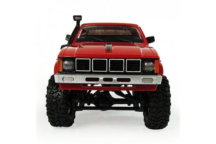 Радиоуправляемый краулер WPL Military Truck Buggy Crawler RTR 4WD масштаб 1:16 2.4G WL Toys WPLC-24R-Red