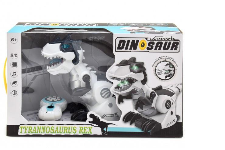 Радиоуправляемый интерактивный динозавр Тираннозавр Рекс CS Toys 128A-21