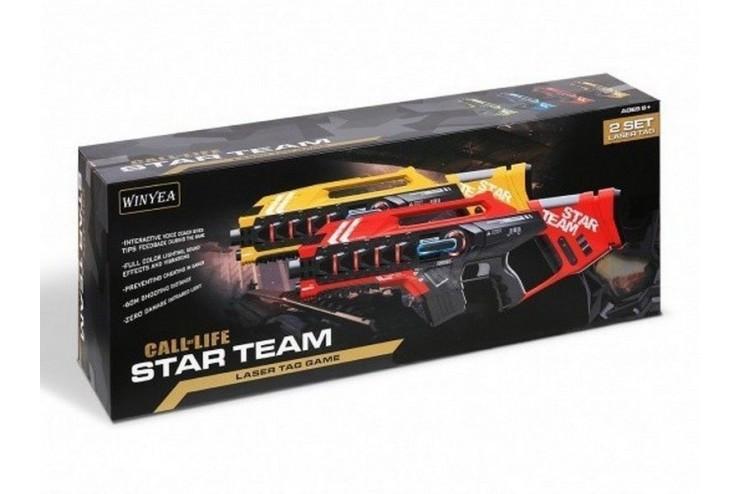 Набор для лазертага Winyea Call of Life Star-Team (2 автомата) Winyea W7006D