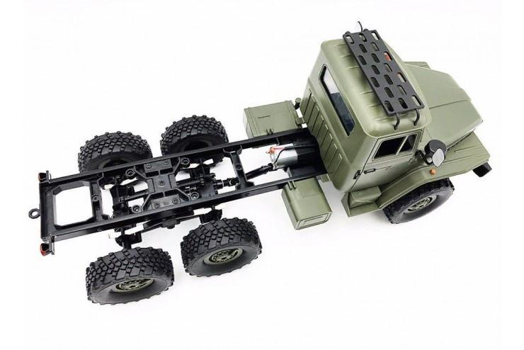Радиоуправляемый Советский военный грузовик Урал 4WD RTR масштаб 1:16 2.4G WL Toys WPLB-36