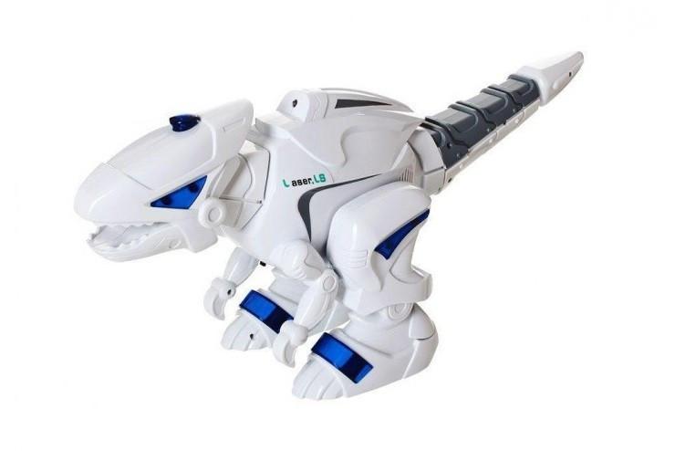 Радиоуправляемый интерактивный динозавр SPACE с паром (свет, звук, рычание) CS Toys 1042A