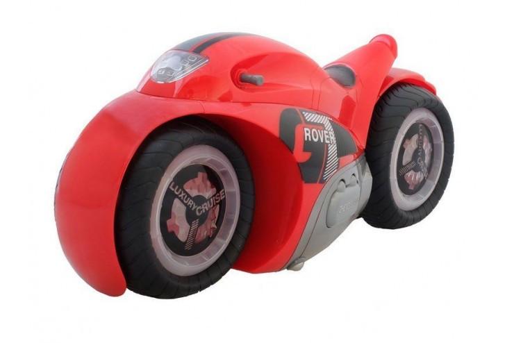 Радиоуправляемый мотоцикл-перевертыш GT-ROVER масштаб 1:12 RTR 2.4G (красный) ZhengGuang UD2189A-R