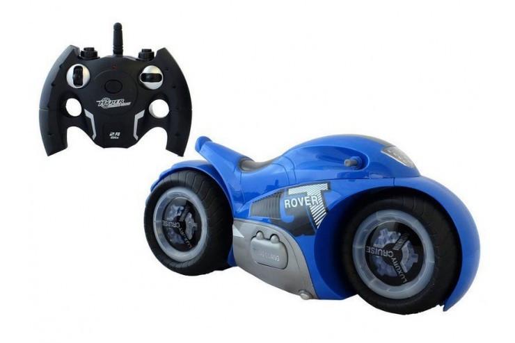 Радиоуправляемый мотоцикл-перевертыш GT-ROVER масштаб 1:12 RTR 2.4G (синий) ZhengGuang UD2189A-B