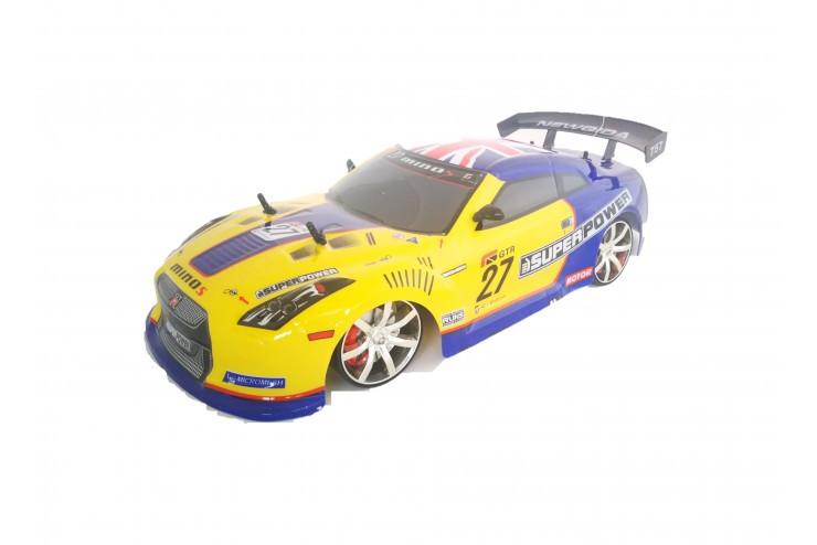Радиоуправляемый автомобиль для дрифта 4WD 1:10 NQD 757-4WD01-Yellow