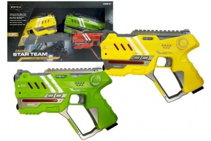 Набор для лазертага Call of Life Star-Team (2 бластера) Winyea W7008D