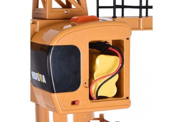 Радиоуправляемый башенный кран масштаб 1:14 2.4G HUI NA TOYS HN1585