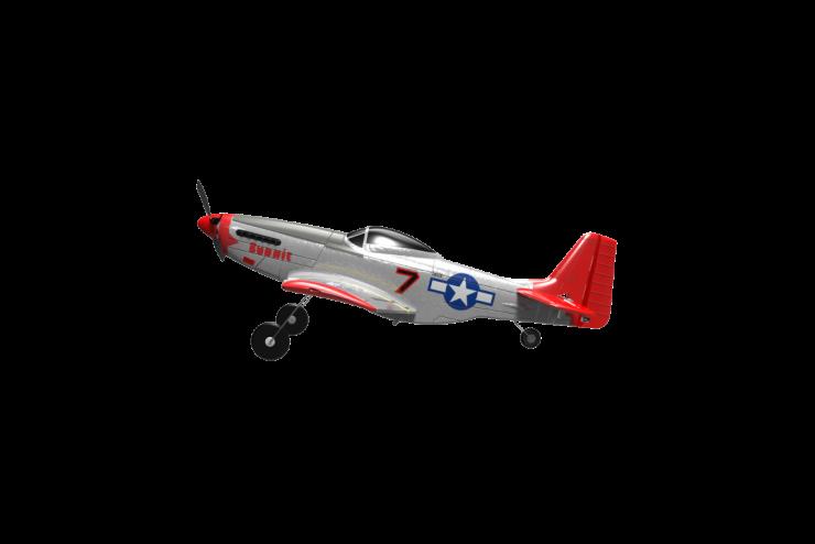Радиоуправляемый самолет P51D Mustang 2.4G WL Toys 761-5