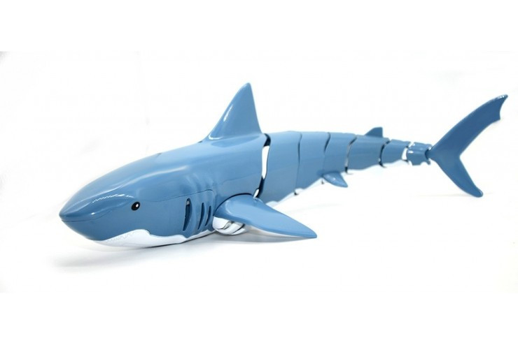 Радиоуправляемый робот Акула плавает в воде 2.4G CS Toys CS-Z102