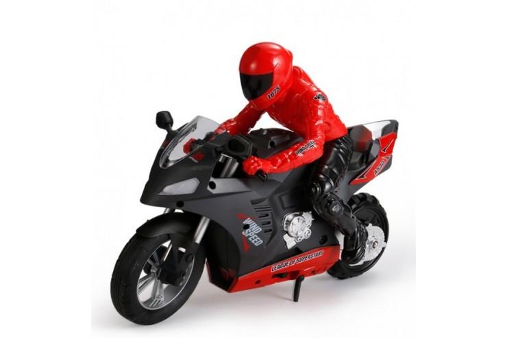 Радиоуправляемый мотоцикл (дрифт, GYRO, 1:6) 2.4G CS Toys HC-801-RED