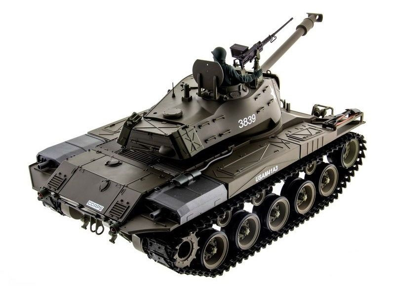 "Радиоуправляемый танк Heng Long M41 ""Walking Bulldog"" Upgrade V6.0 2.4G 1/16 RTR, HL3839-1U6.0"