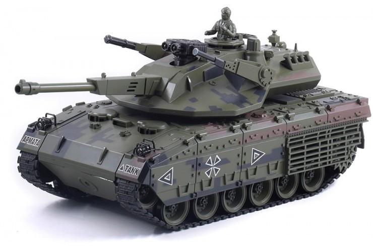 Радиоуправляемый танк CS RUSSIA T-14А Армата Household YH4101H-21