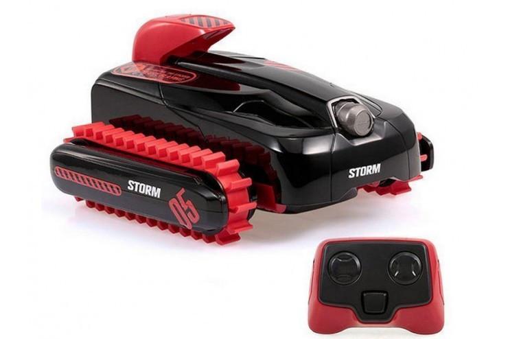 Радиоуправляемый гусеничный вездеход-амфибия Crazon Create Toys CR-18SL02B-RED
