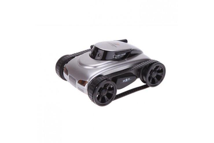 Радиоуправляемый мини танк-шпион I-Spy с камерой WiFi Happy Cow 777-270-Grey