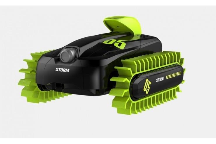 Радиоуправляемый гусеничный вездеход-амфибия Crazon Create Toys CR-18SL02B-GREEN