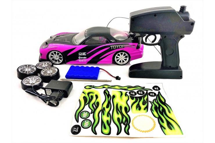 Радиоуправляемый автомобиль для дрифта Mazda RX-7 GT 1:14 CS Toys 828-4-PINK