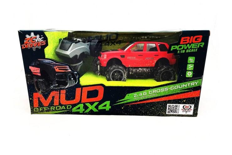 Радиоуправляемый джип ZC 333 MUD Off-Road 4X4 2.4G - 333-MUD22B