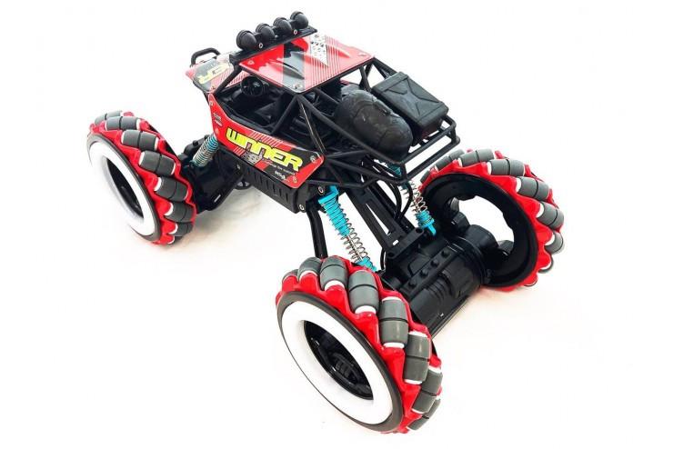 Радиоуправляемый джип для дрифта Yearoo (часы + пульт) 1:12 - RED Yearoo Toy 668-1A-RED