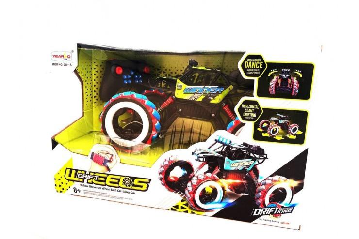 Радиоуправляемый краулер для дрифта Yearoo (часы + пульт) 1:10 - GREEN Yearoo Toy 339-1A-GREEN
