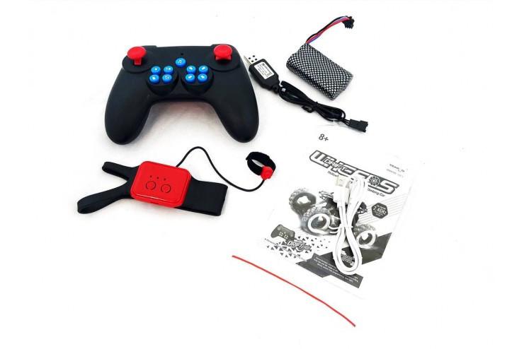 Радиоуправляемый краулер для дрифта Yearoo (часы + пульт) 1:10 - RED Yearoo Toy 339-1A-RED